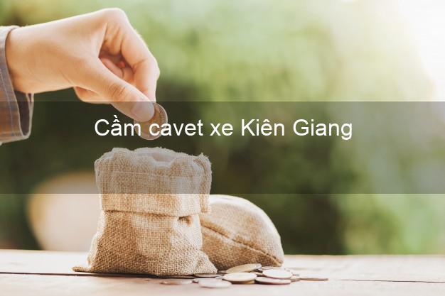 Cầm cavet xe Kiên Giang