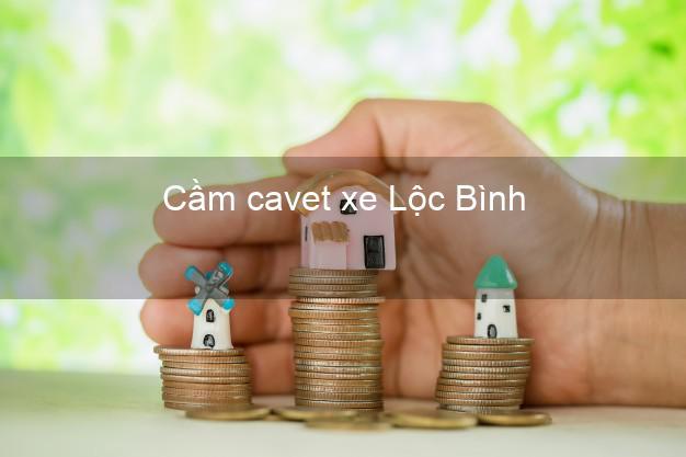 Cầm cavet xe Lộc Bình Lạng Sơn