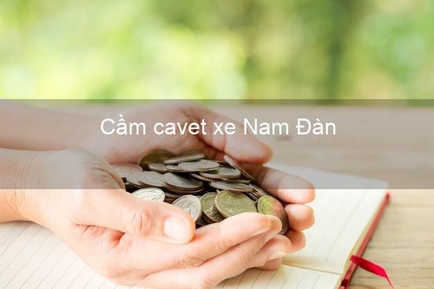 Cầm cavet xe Nam Đàn Nghệ An