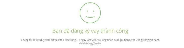 Hướng dẫn vay tiền Doctor Đồng đơn giản nhất