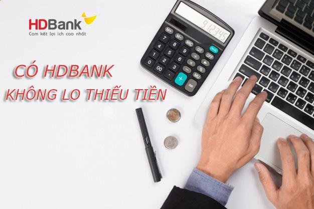 Hướng dẫn vay tiền HDBank tháng 5/2021