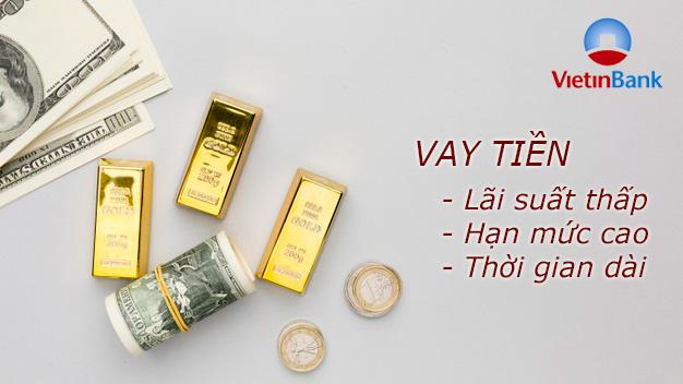 Hướng dẫn vay tiền VietinBank trả góp