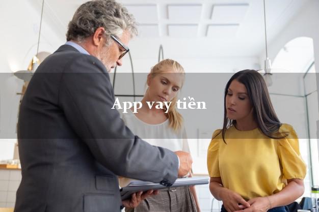 App vay tiền uy tín